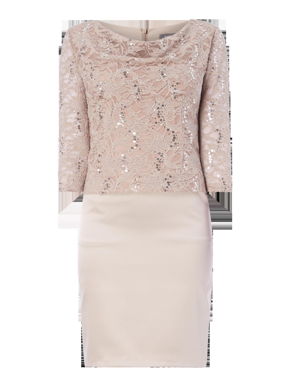 Kleid mit Wasserfallausschnitt online kaufen | 0€ Versand ▷ P&C ...