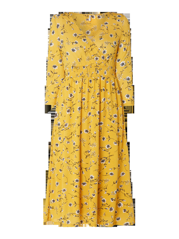 silk kleid gelb