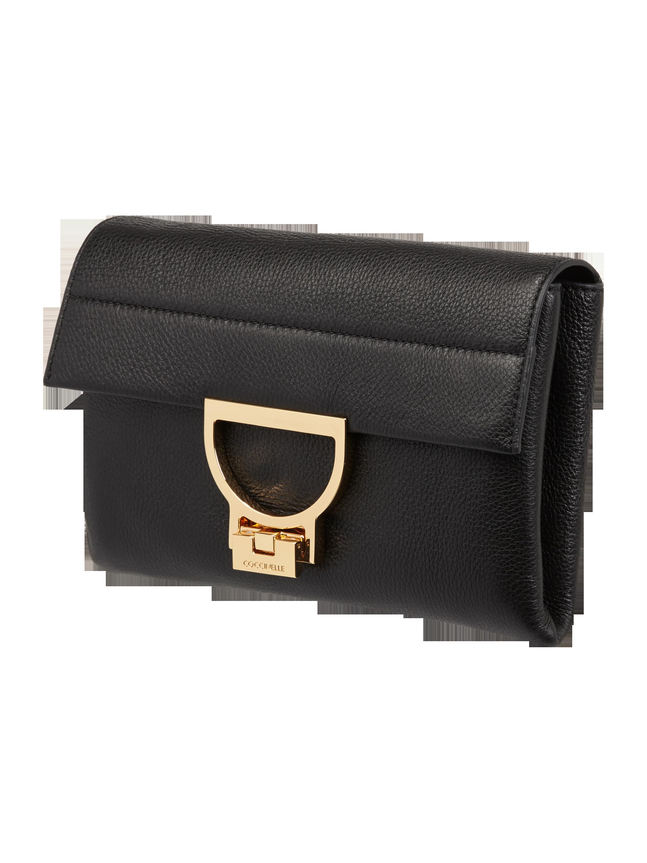 cb4ee21ccbd63 COCCINELLE Arlettis-Crossbody Bag mit Zierverschluss in Grau   Schwarz  online kaufen (9665070) ▷ P C Online Shop Österreich