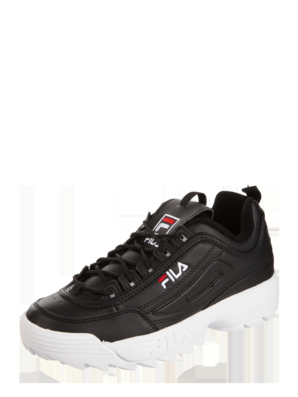 FILA – Sneakersy Disruptor z wyhaftowanym logo – Czarny
