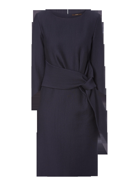 WINDSOR Kleid mit Knotendetail in Blau / Türkis online kaufen ...