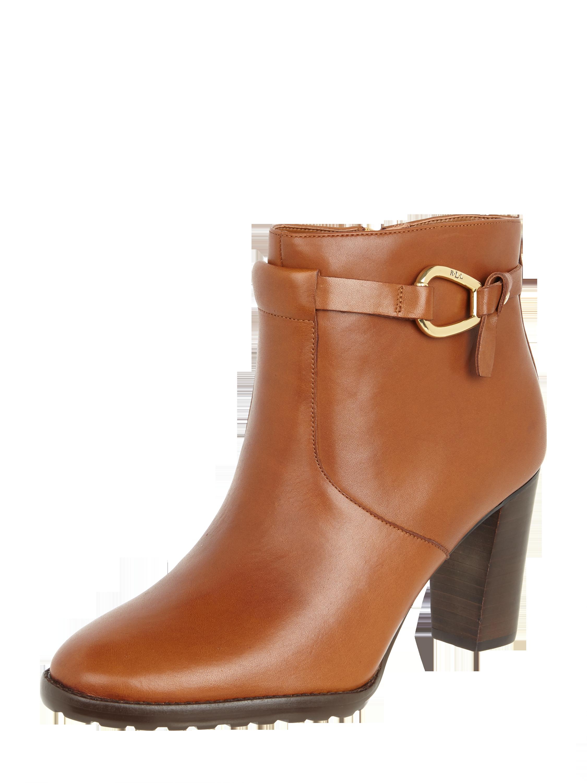 2ddd89352f2ffb LAUREN-RALPH-LAUREN Stiefelette aus Leder in Braun online kaufen (9860934)  ▷ P C Online Shop Österreich