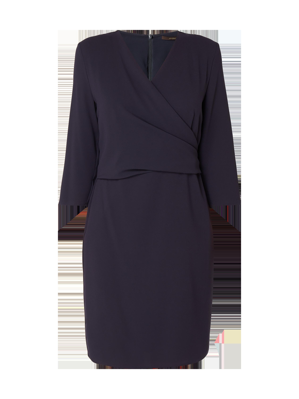 WINDSOR Kleid in Wickeloptik in Blau / Türkis online kaufen (9817926 ...