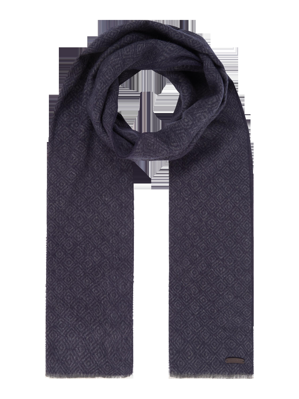 TED-BAKER Schal mit eingewebtem Muster in Blau / Türkis online ...
