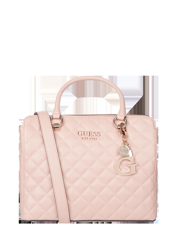 GuessMelise (vr) Satchel – Handtasche mit unterteiltem Hauptfach Modell 'Melise'