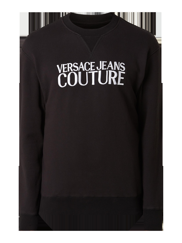 Versace Jeans Couture – Sweatshirt aus Baumwolle – Schwarz
