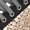 P448 Sneaker aus Veloursleder mit Kontrasteinsatz Weiß - 1