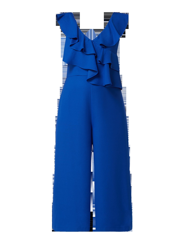0ed71f763aed5d COAST Jumpsuit mit Volantbesatz im Stufen-Look in Blau   Türkis online  kaufen (9925196) ▷ P C Online Shop Österreich
