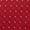 Olymp Level 5 Krawatte aus reiner Seide mit Punkte-Dessin Rot - 1
