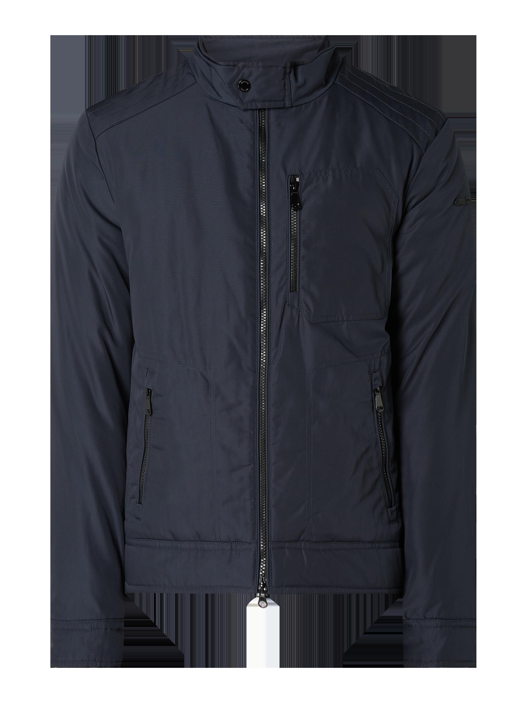 Geox – Jacke mit Stehkragen – Marineblau