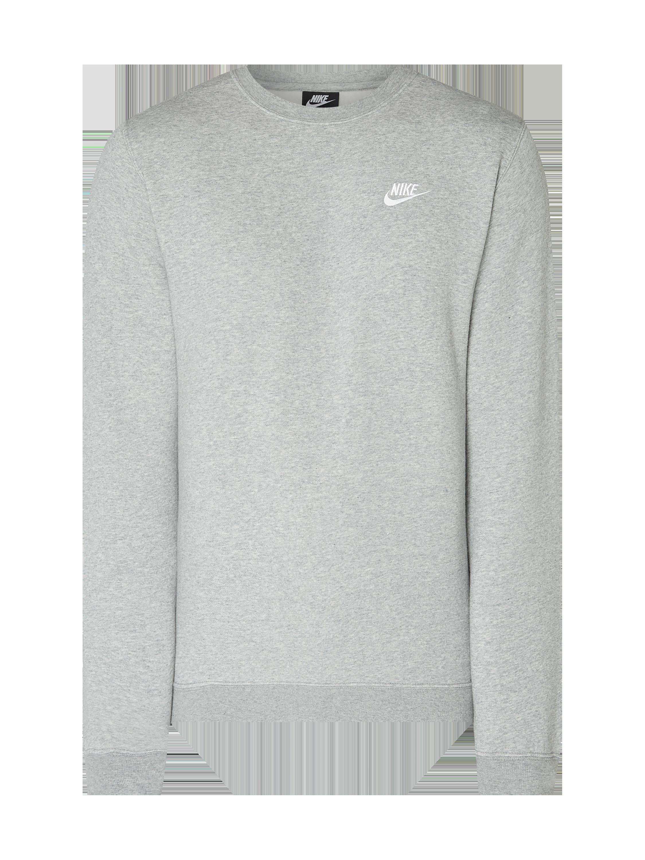 894145b7 Nike – Bluza z wyhaftowanym logo – Szary melanż