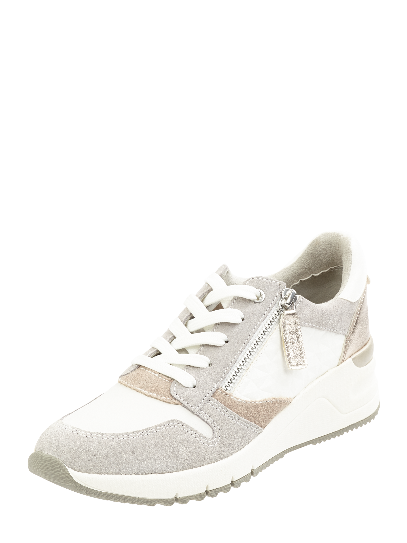 TAMARIS Sneaker Wedges aus Veloursleder und Textil in Weiß online kaufen (1055454) ▷ P&C Online Shop