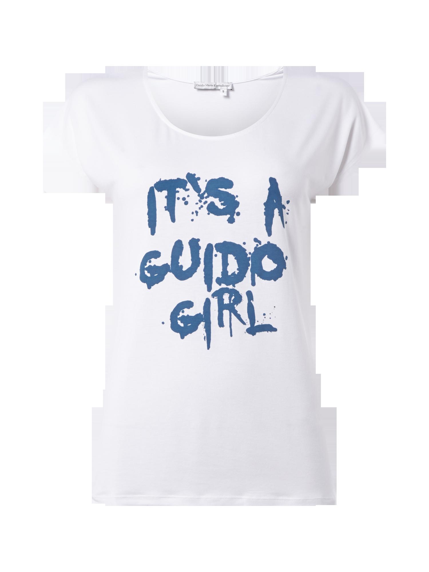 premium selection 1ee41 e84e4 GUIDO-MARIA-KRETSCHMER T-Shirt mit Print und angeschnittenen ...