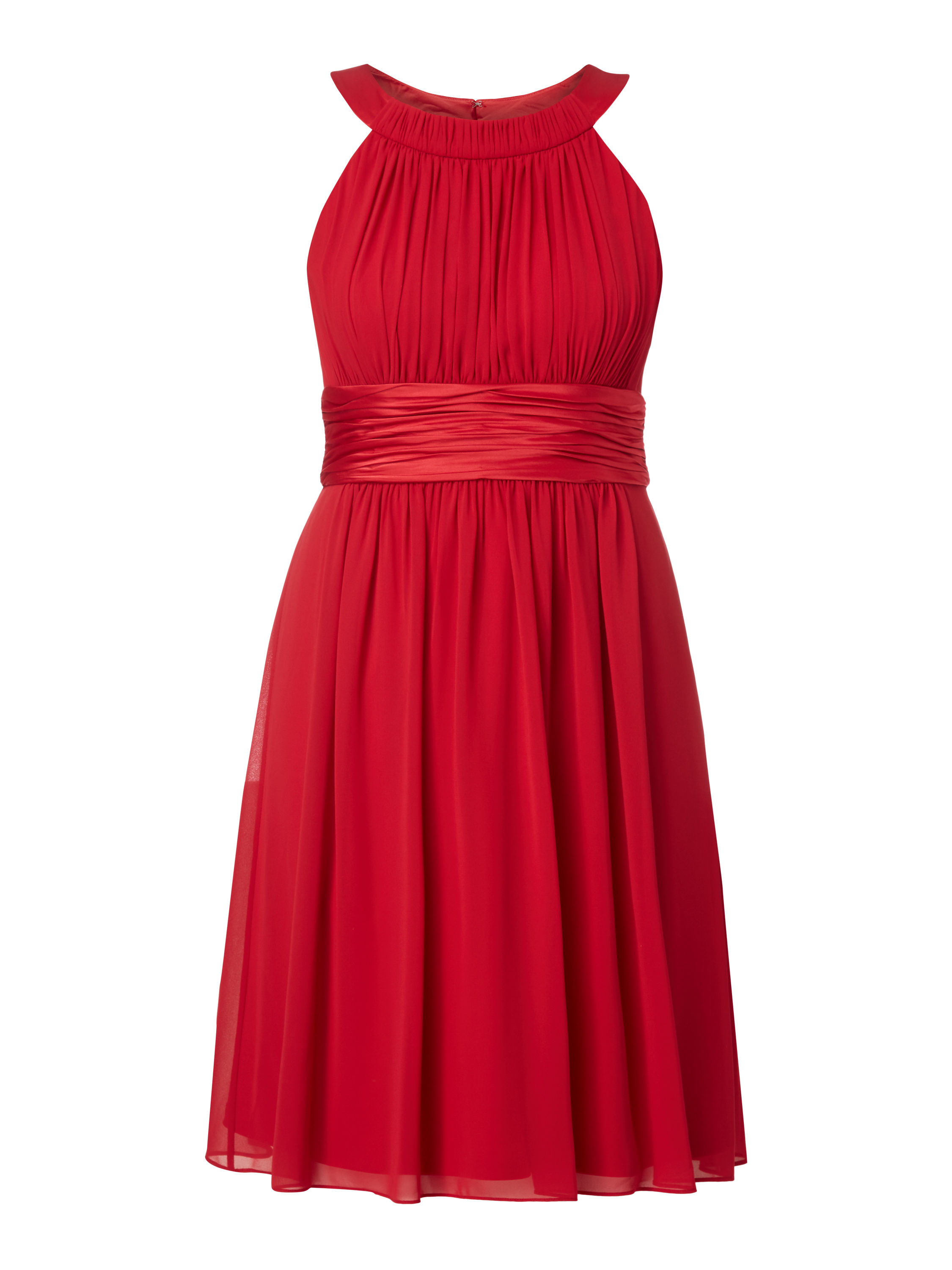 91bd21bdfe4d53 JAKES-COCKTAIL Cocktailkleid mit Collierkragen in Rot online kaufen  (9726882) ▷ P C Online Shop