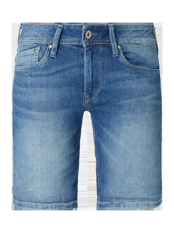 PEPE-JEANS Coloured Jeansshorts mit Stretch-Anteil in Blau   Türkis online  kaufen (9769037) ▷ P C Online Shop Österreich 8e1424950e