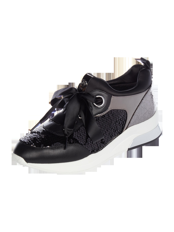 LIU JO MILANO Sneaker Wedges 'Cara' mit Wende-Pailletten ER0RtijdI3