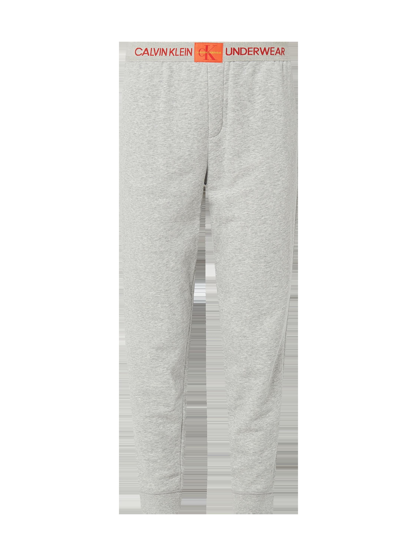 c7bdeb8d4ecfce CALVIN-KLEIN-UNDERWEAR Spodnie dresowe melanżowe w kolorze Szary / czarny  zakupy online (9834216) w P&C ▷ wysyłka i zwrot 0zł