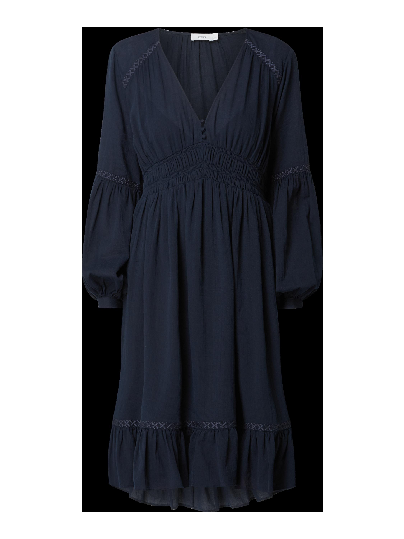 Closed Ophelia -   Kleid mit Stickereien Dunkelblau
