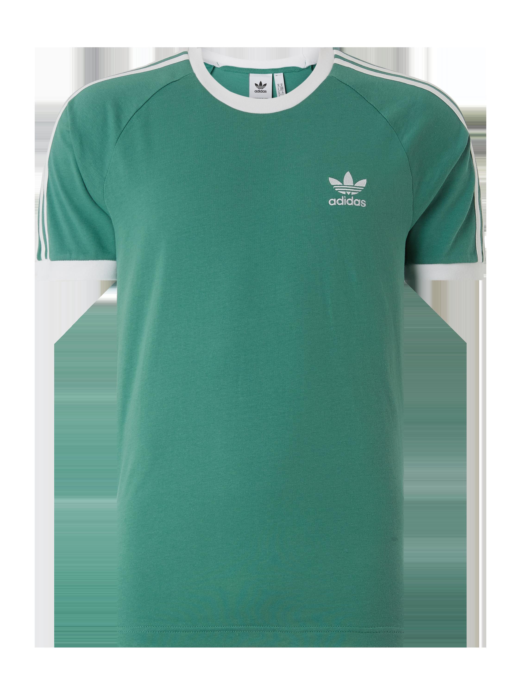 ADIDAS T Shirt mit kurzen Raglanärmeln in Grün online kaufen