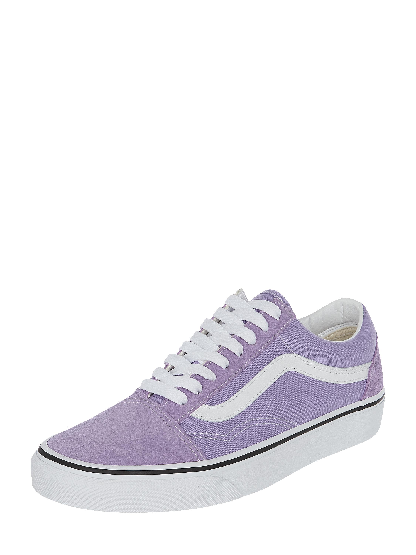 Vans – Sneakersy z płótna i skóry welurowej – Fioletowy