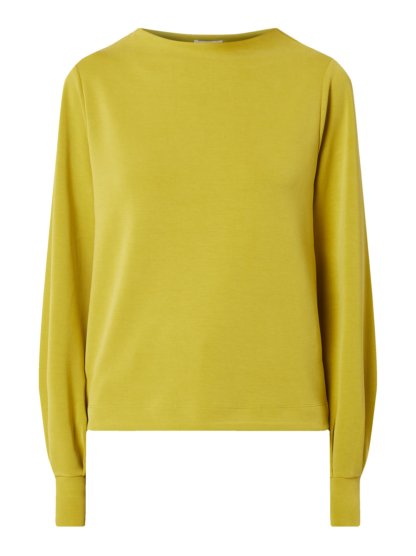 OPUS Sweatshirt mit Stehkragen Modell 'Gaumi' in Grün online