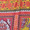 Ganesh Jumpsuit aus Viskose mit Allover-Muster Rot - 1