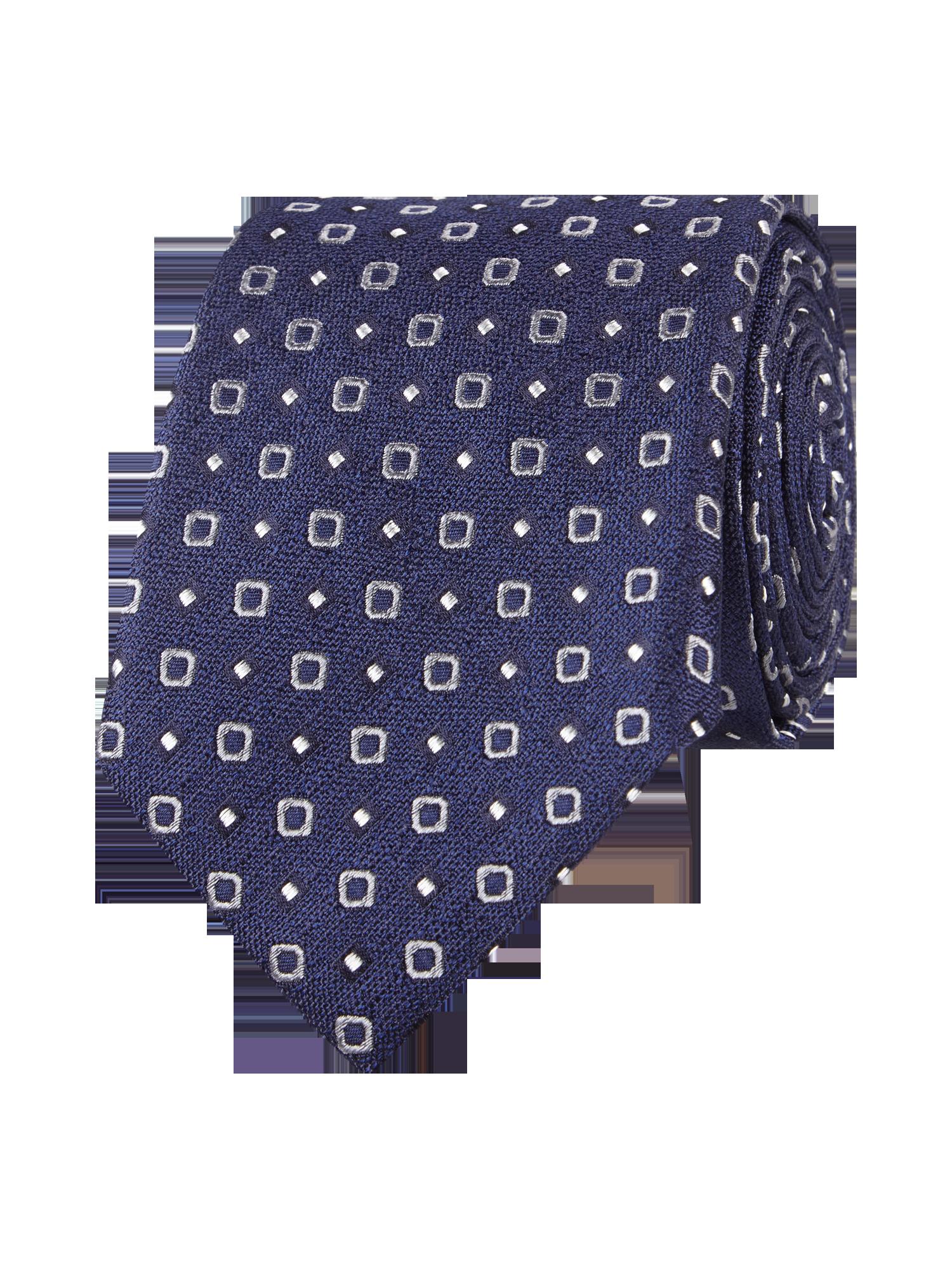Eduard Dressler Krawatte Mit Allover Muster In Blau Turkis Online
