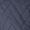 LArgentina Steppjacke mit Webpelzbesatz Marineblau - 1