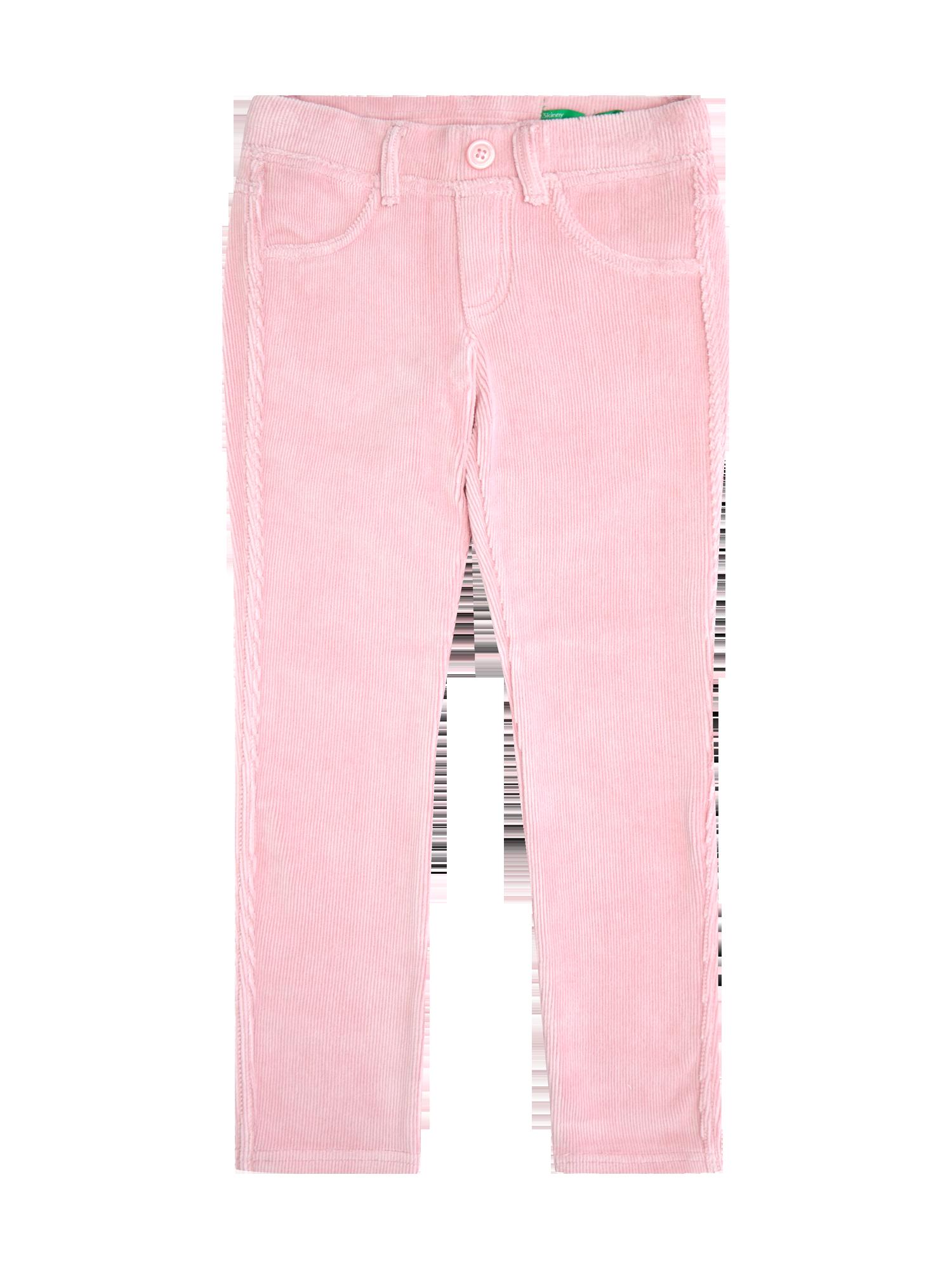 6b1e5f2dfe UNITED-COLORS-OF-BENETTON Skinny Fit Treggings aus weichem Cord in Rosé online  kaufen (9271904) ▷ P&C Online Shop