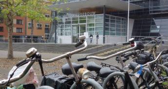 Het gerechtsgebouw in Utrecht