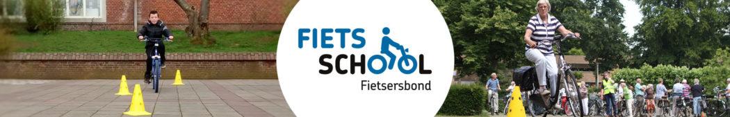 Fietsschool header