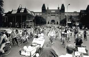 Massale demonstraties eind zeventig/tachtiger jaren