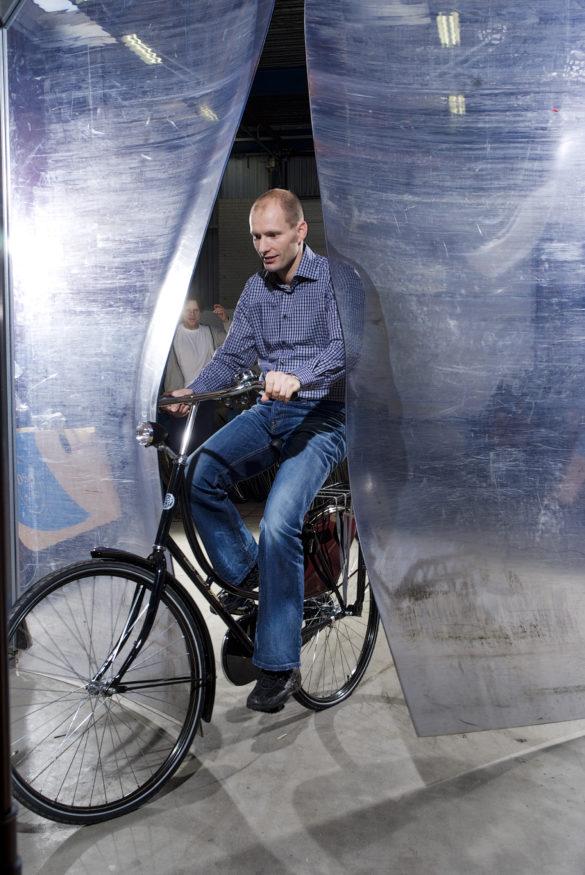 BSP-fiets met Raymond van der Heiden