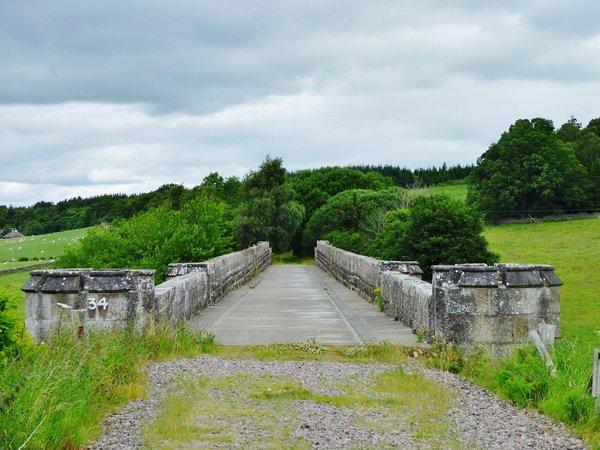GB Dava Way Divie Viaduct by IA Smellie