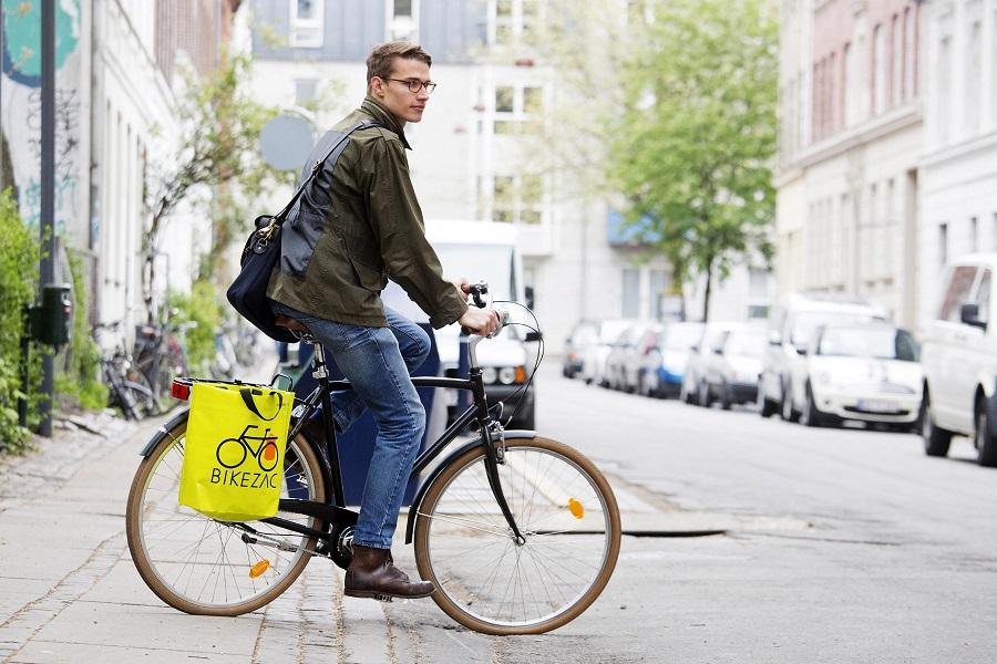 Tas met fietshaken