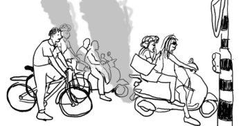 Vieze scooters