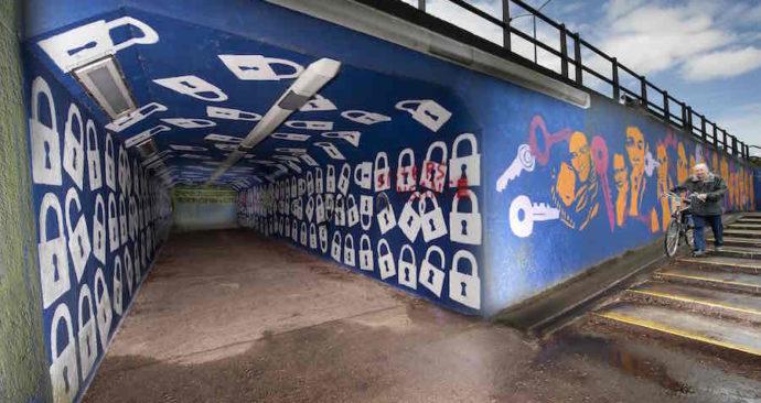 Slotjestunnel in Oosterhout
