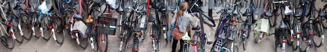Fietsen stallen in Utrecht