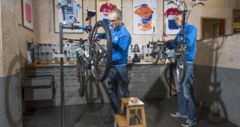 werkplaats fietsenmaker in amersfoort