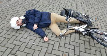 fietsairbag Hovding is vooral handig voor eenzijdige opgevallen