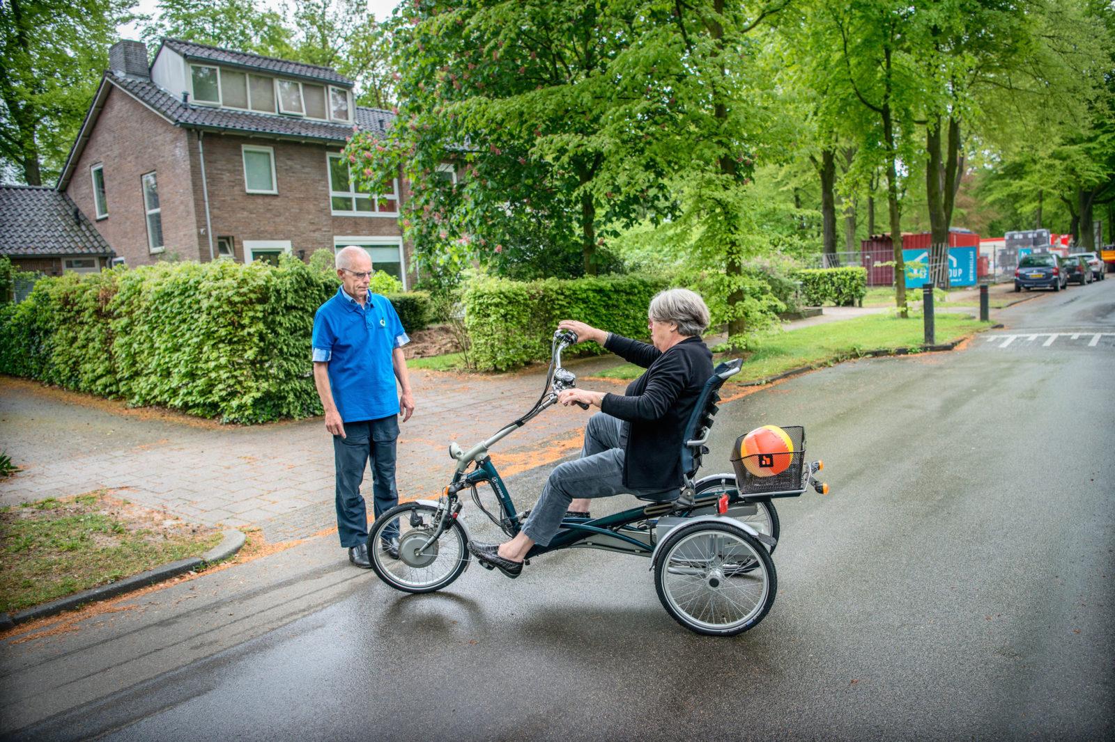 driewielles met Ivo Smit, Easy Van Raam
