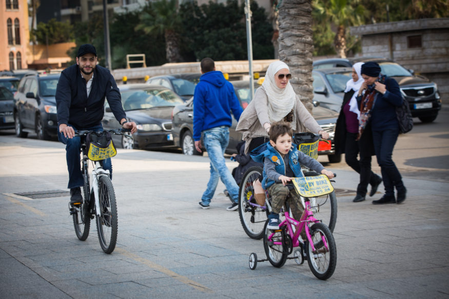 boulevard, fietsen, beiroet