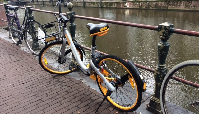 oBike in Amsterdam