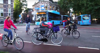 Gevaarlijke oversteek in Zwolle