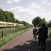 Breed fietspad in Twente
