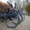 Alle E-bikes op een rij