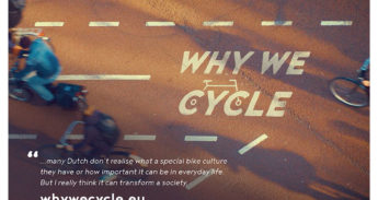 Beeld uit de film Why we cycle
