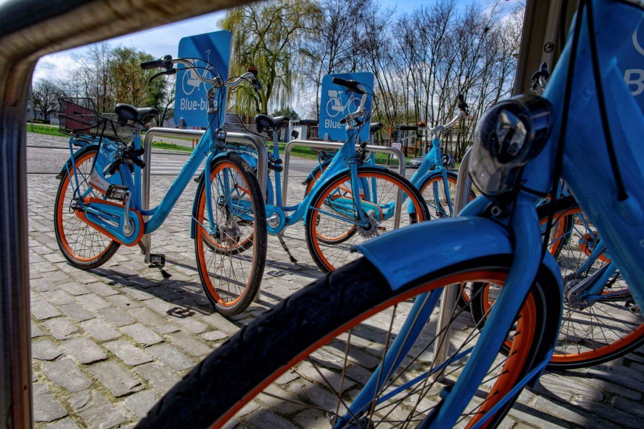 Bluebikes in Deinze