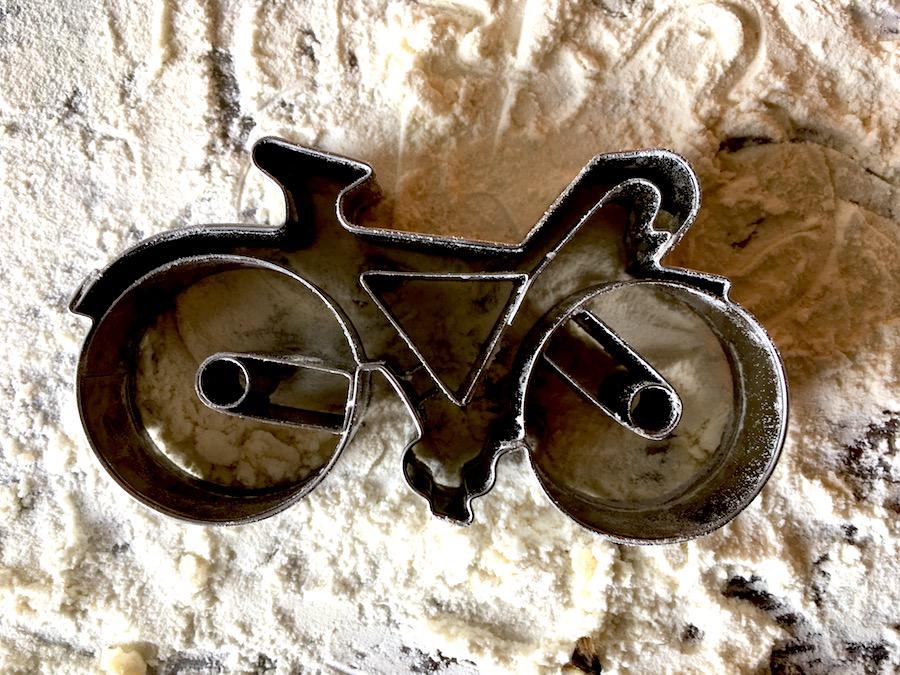 UItsteekvorm fiets