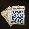Fietsstickers van Bookman